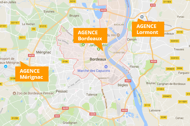 Carte agence Aura Finance